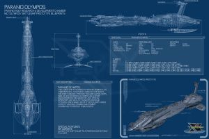 Paranid Olympos blueprint by Enenra