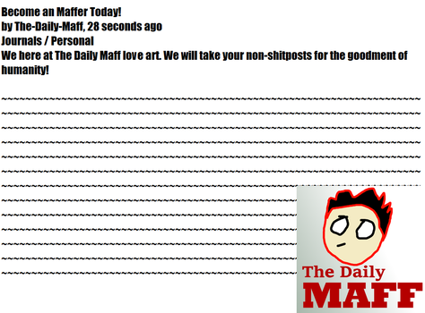 Bcome An Maffer Today! by The-Daily-Maff