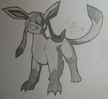 Glaceon by SapphireMoonDrop
