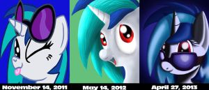 Then and Now by SilvatheBrony