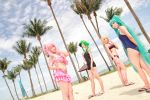 Vocaloid Swimsuit - Luka Gumi Rin Miku by Xeno-Photography