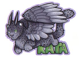 Kattira Cut Out Badge by Kata