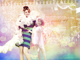 Hyoyeon Wallpaper Luminous ver by Princessheart281