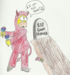 I AM EVIL HOMER by TheSimpsonsFanGirl