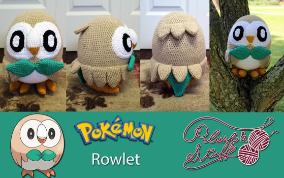 Rowlet by PlushAndStuff