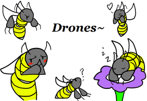 Drones by DeathToSquishies