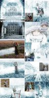 Winter is Coming Photoshop Snowing Effect Action by GraphicAssets