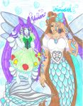 Bubble Gem Quest - Meredith and Vivien by Winter-Colorful