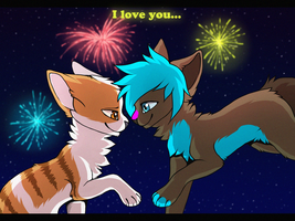 Happy new year, love! by Griwi
