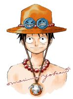 Luffy-1 Color by Paula-Ane
