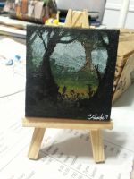 Mini Painting by The-Happy-Apple