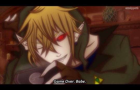 anime screenshot- BEN DROWNED by CandyPout