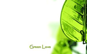 Green Love. by clasixart