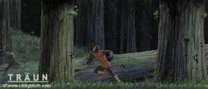 Traun Running Through Forest by ColbyBluth
