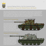 AFVs of the First Anemonian Empire, Part 2 (1942) by SixthCircle