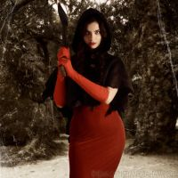 Little Red by lokithorn