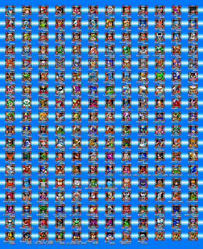 ALL ROBOT MASTERS by geno2925