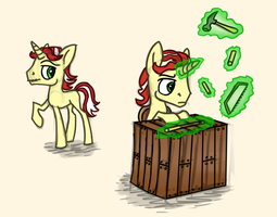 Artist Training Grounds - Day 5: Filly/Colt by Wolframclaws