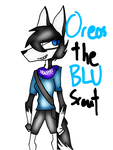 TF2 Request - Oreos the BLU Scout by laopokia