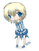 Chibi Namine -DreamPhantom Design- by TeaBunnyy
