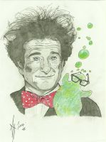 Robin Williams............Legend by LeeArt-Uk