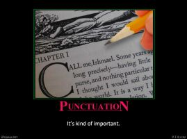 Punctuation #3 by PopeyeTheoB