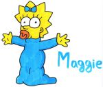 Maggie Simpson by YouCanDrawIt