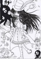 Alice Madness Returns Fan Art - The bunny costume by Yuuricchin