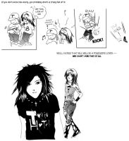 Tokio Hotel comic strip by Keira-Bui