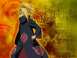 Deidara - Wallpaper by me969