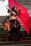 Sarkhan Vol , Banefire @ ECCC 2015 by melell