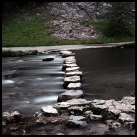 The Stepping Stones by Engazung
