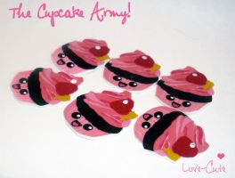 The Cuppycake Army by lovecute