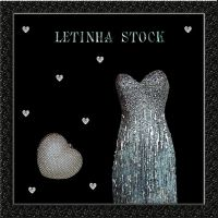 Silver Dress and Purse by letinhastock
