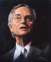 Richard Dawkins - A Portrait by RantingJo
