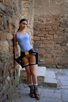 Lara Croft - entrance by TanyaCroft
