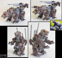 Zoids Bear Fighter Artillery by Bang-Doll-SSI