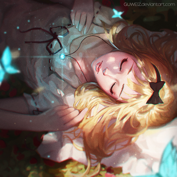 Asleep~ by GUWEIZ