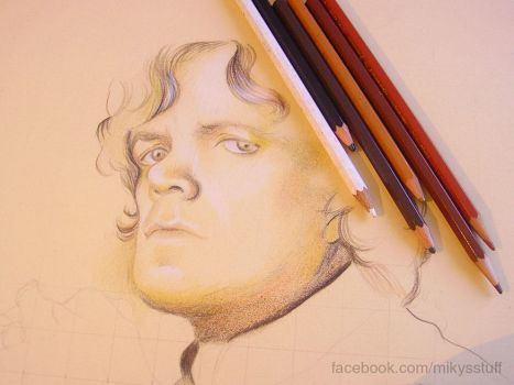 Tyrion Lannister - WIP by Mikyechelon