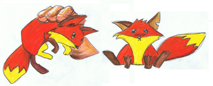 Fox from Crash of the Titans by ConkerTSquirrel