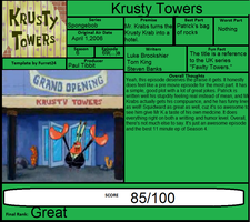 Krusty Towers Episode Painting Patrick S Room