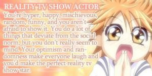 I'm a Reality TV Show Actor by PrincessKatieForever