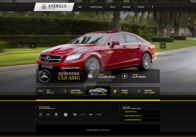 Rent a Car - Andelss Rental Website by marczewski-org