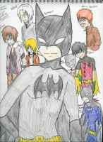 Batman and others by SakanaxSoixMimiru