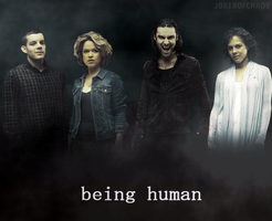 Being Human by JokerOfChaos