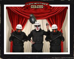 The Great Charest Freakshow Circus by misfitmalice