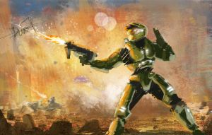 masterchief speed 2 by duxfox