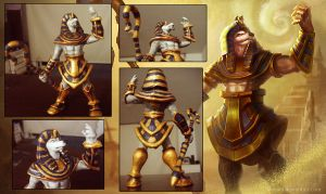 Pharaoh Nasus by Artsed