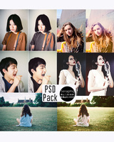 PSD Pack Seraphq by SeraphimQ