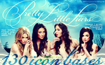 Pretty Little Liars icon bases by amber-necklace